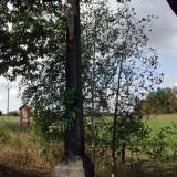 Kříž u pastvin